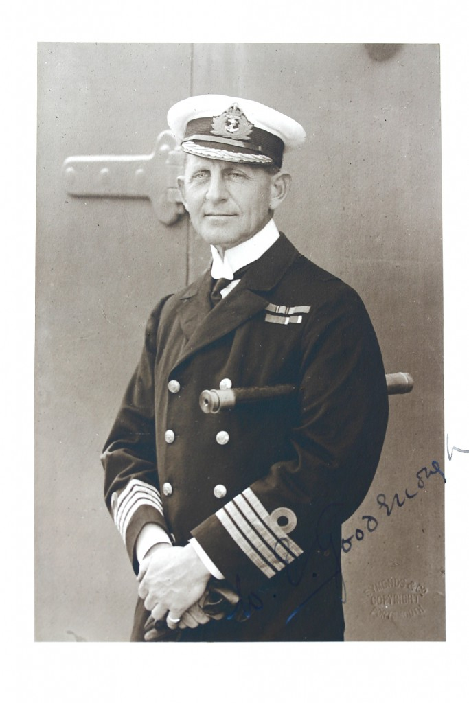 Commodore William 'Barge' Goodenough (1867-1945)