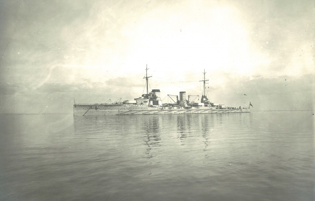 SMS Seydlitz (Photo, courtesy of Blohm und Voss, Hamburg)