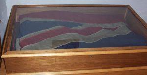 HMS Abdiel's flag at Lwford.