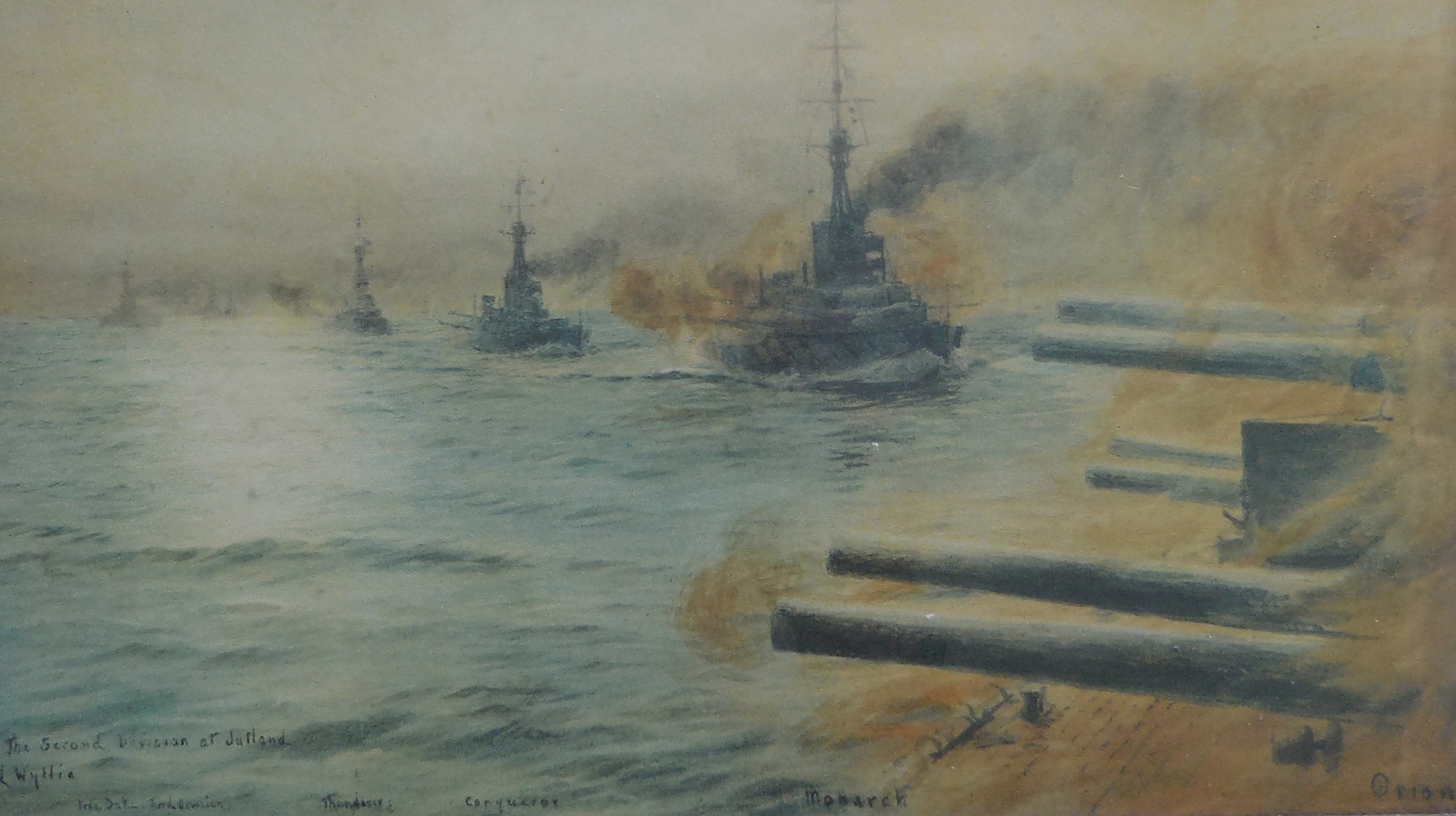 the battle of jutland The battle of jutland—or the battle of the skagerrak, as it was known to the germans—engaged a total of 100,000 men aboard 250 ships over the course of 72 hours the germans, giddy from the glory of scheer's brilliant escape, claimed it as a victory for their high seas fleet at first the british press agreed, but the truth was not so clear.