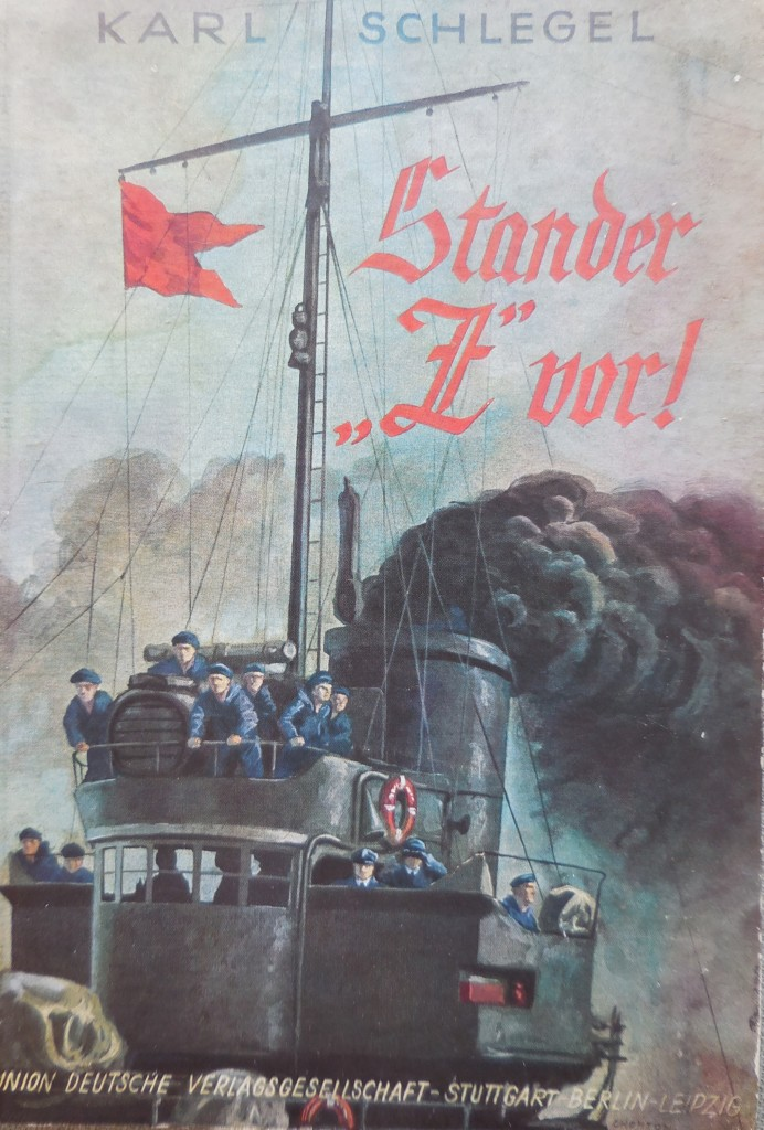 The red Stander Z signal was the order for Torpedo boats to attck.