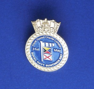 The Equal Speed Charlie London lapel badge