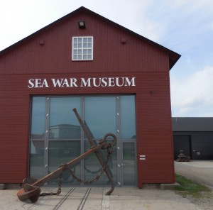 The new Danish Sea War Museum in Thyborøn, Denmark.