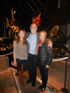 Bente and Gert Normann Andersen with Trish Jellicoe