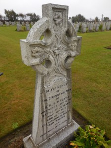 Gravestone for the crew of HMS Malaya fallen at Jutland