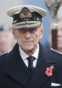 The Duke of Edinburgh was a serving naval officer during World War Two.