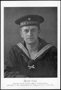 The writer and poet, Johann Kinau, better known as Gorch Fock.
