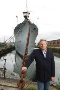 Nick Jellicoe's visit to HMS Caroline in Belfast before her reconstruction starts.