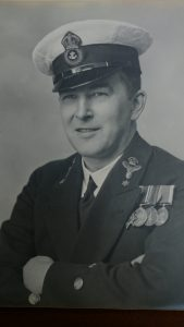 Samuel Roberts during World War II