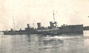 Built by Blohm and Voss, the B.98 saw service at Jutland but ended her career as the mail delivery boat at Scapa.
