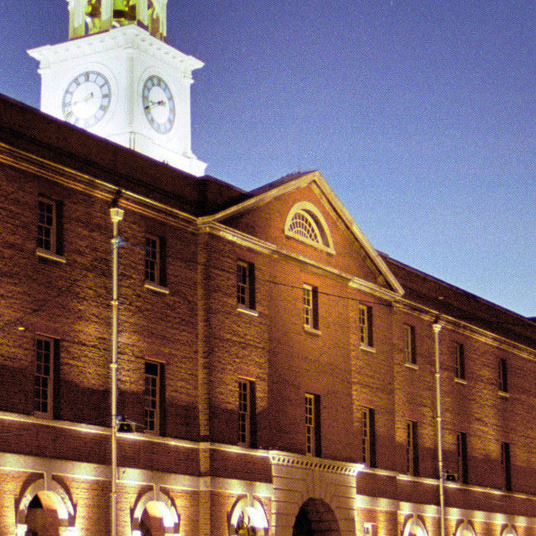 homepage_large_National_Museum_of_Royal_Navy_Portsmouth_building_image_at_night