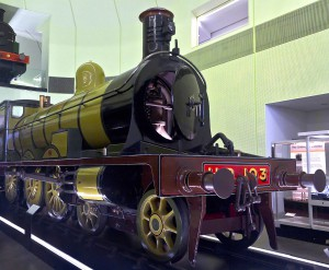 Glasgow No. 103 is the last remaining Highland Railway locomotive and could have been among those hauling the Jellicoe between Perth and Thurso. Copyright Dun_Deagh (Riverside Museum, Glasgow)